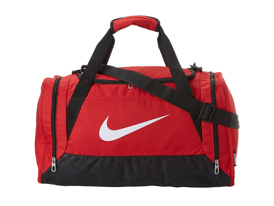 Nike - Brasilia 6 Small Duffel (Gym Red/Black/White) Duffel Bags