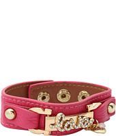 Betsey Johnson - Betsey Pink Gold Boost Love ID Strap Bracelet
