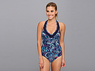 Lole - Tulum One Piece Swimsuit (Evening Blue Paisley) - Apparel<br />