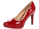 Cole Haan - Chelsea Pump (Velvet Red Patent) - Cole Haan Shoes