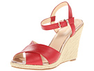 Cole Haan - Hart Wedge (Tango Red) - Footwear