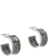 Bottega Veneta - Silver Stud Earrings