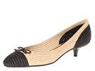 Bottega Veneta - 337827VADO0 (Nero/Naturale) - Footwear