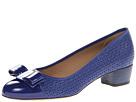 Salvatore Ferragamo - Vara Cut (Zaffiro Viola) - Footwear