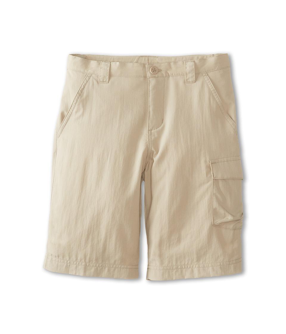 Columbia Kids Silver Ridge II Short Little Kids/Big Kids Fossil Boys Shorts