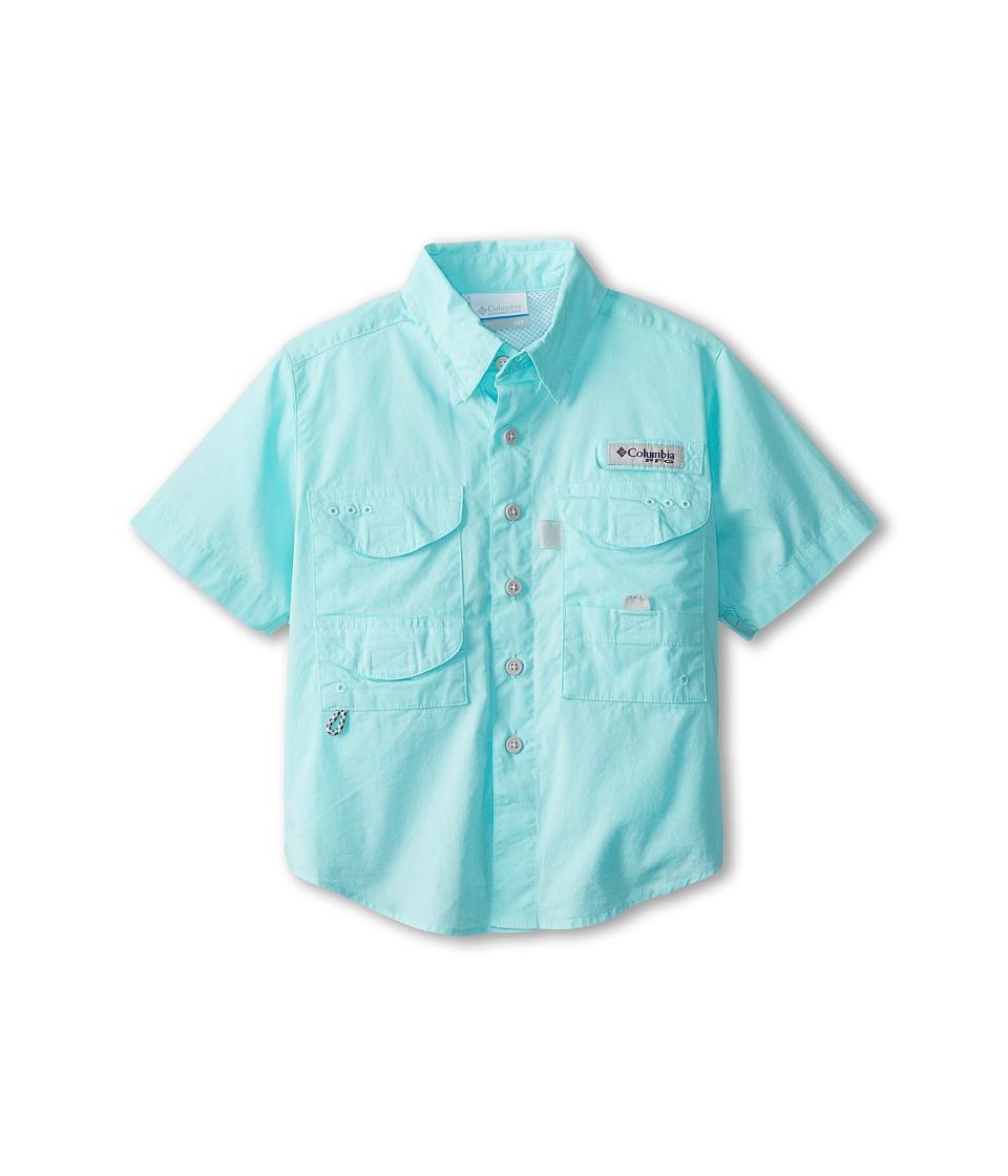 Columbia Kids - Boneheadtm S/S Shirt (Little Kids/Big Kids) (Gulf Stream) Boys Short Sleeve Button Up