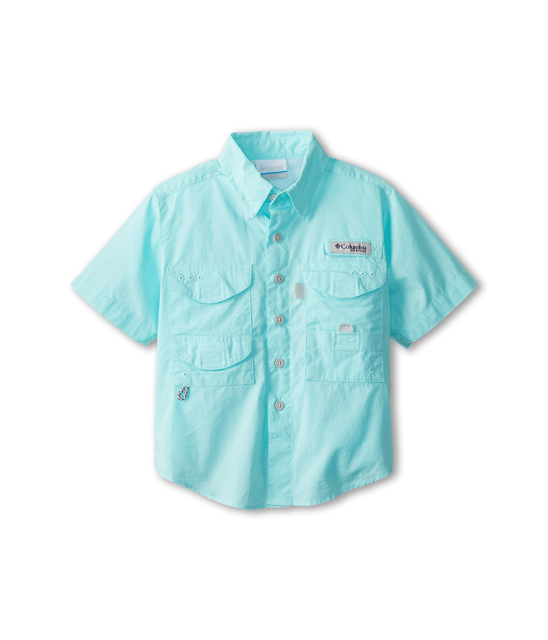Columbia kids bonehead s s shirt little kids big kids for Baby fishing shirts columbia