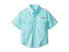 Image of Columbia Kids - Bonehead S/S Shirt (Little Kids/Big Kids) (Gulf Stream) Boy's Short Sleeve Button Up