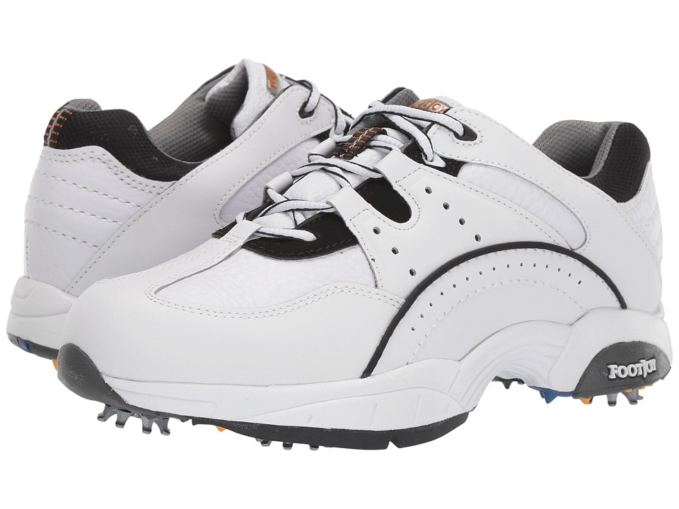 FootJoy - FJ Hydrolite Athletic Shoe (White/Black) Mens Golf Shoes