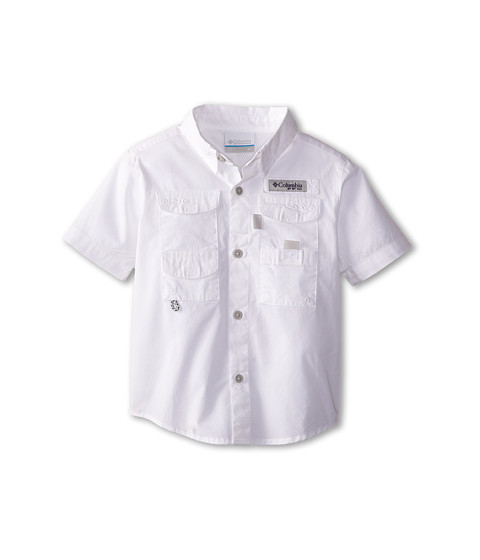View all kids clothing Take a look at our range of kid's outdoor shirts and t-shirts, a collection of many styles providing you with comfort during any outdoor activity. Browse through top brands including Karrimor, The North Face and Columbia.