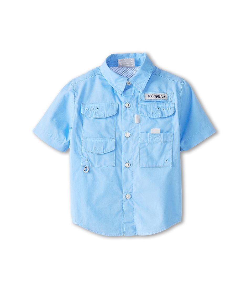 Columbia Kids - Boneheadtm S/S Shirt (Toddler) (White Cap) Boys Short Sleeve Button Up