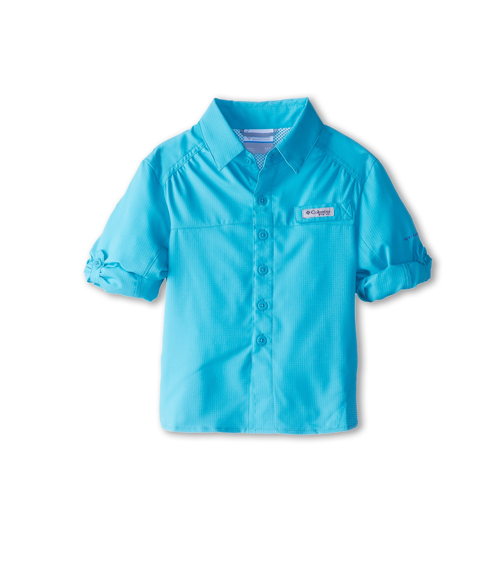 Columbia kids tamiami l s shirt little kids big kids for Baby fishing shirts columbia