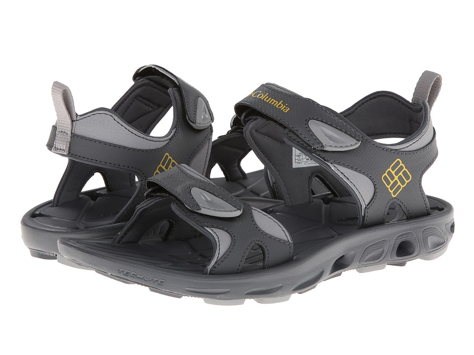 Columbia - Techsun Vent (Charcoal/Yellow Curry) Men