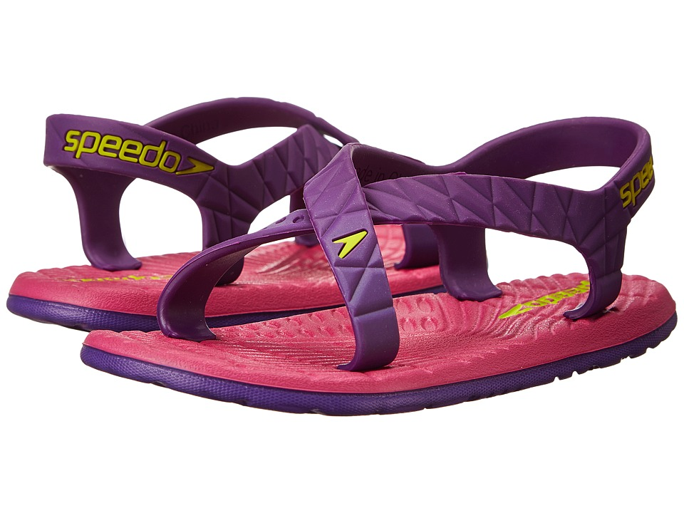 Speedo Kids Exsqueeze Me Flow Little Kid/Big Kid Purple Amaranth/Fuschia Girls Shoes