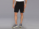 adidas - Speedkick Short (Black/Solar Zest) - Apparel