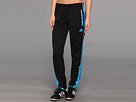 adidas - SpeedTrick Pant (Black/Solar Blue) - Apparel