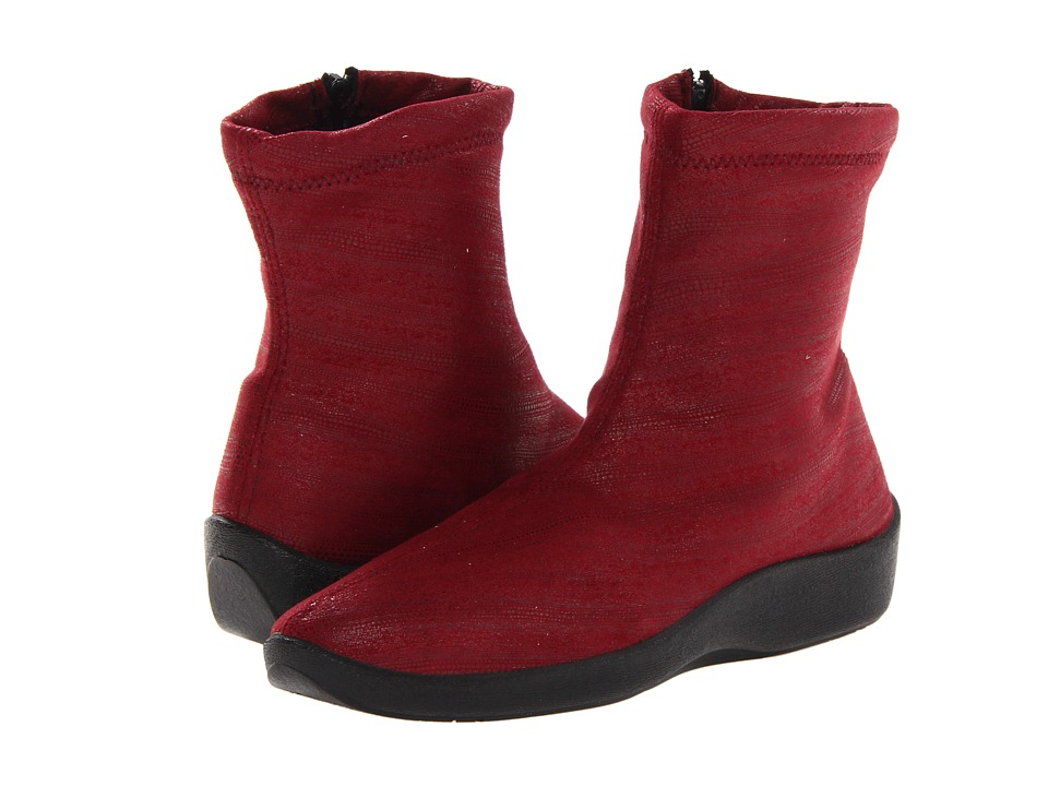 Arcopedico L8 (BS Bordeaux) Women's Zip Boots