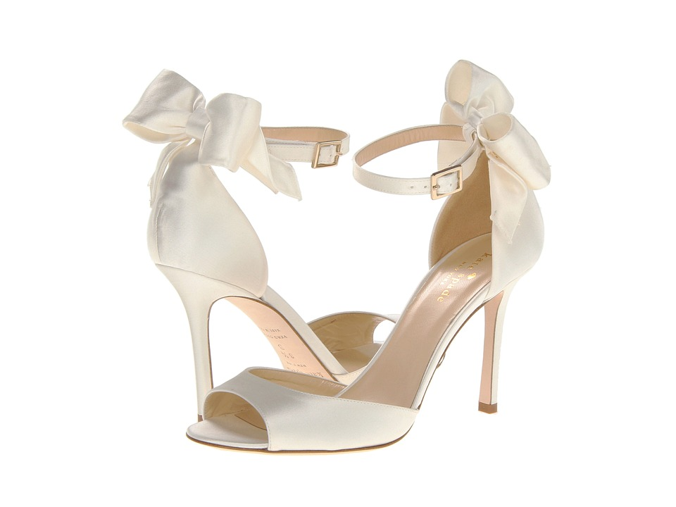Kate Spade New York Izzie (Ivory Satin) High Heel Shoes