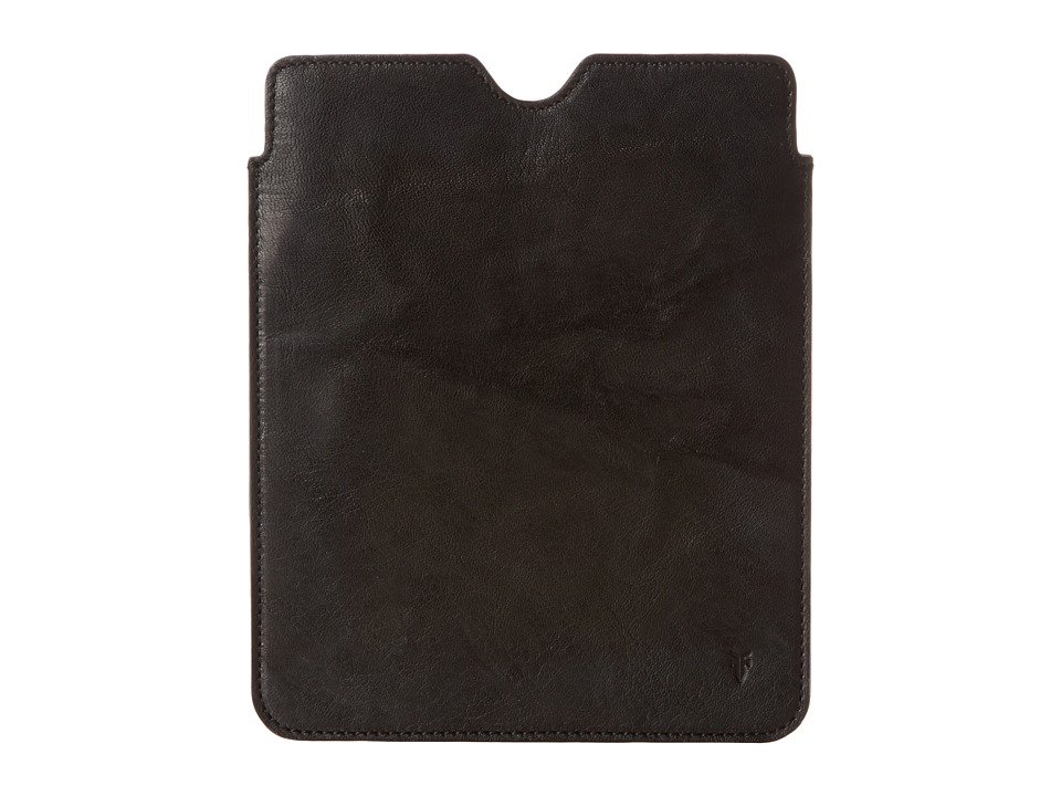 Frye Cameron iPad Sleeve (Black Antique Soft Vintage) Wallet