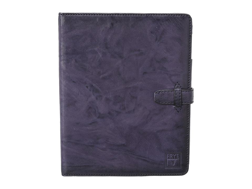 Frye Cameron iPad Case (Iris Antique Soft Vintage) Wallet