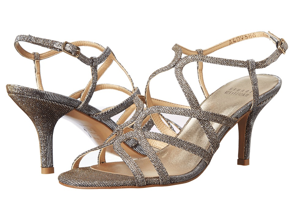 Stuart Weitzman Bridal amp Evening Collection Turningup Pyrite Nocturn High Heels