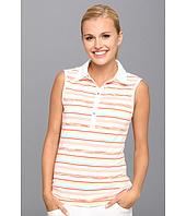 PUMA Golf - Sleeveless Space Stripe Polo