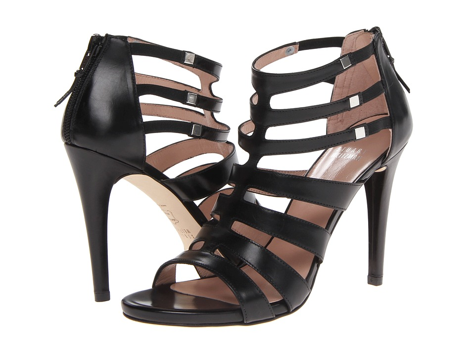 Stuart Weitzman Outing (Black Calf) High Heels