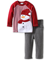le top - Frosty and Family - Stripe Shirt & French Terry Pant (Infant/Toddler)