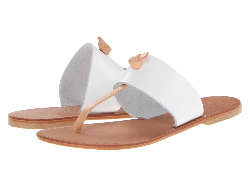 Joie Nice (White/Natural) Women's Toe Open Shoes