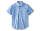 Image of Columbia Kids - Bonehead S/S Shirt (Little Kids/Big Kids) (White Cap) Boy's Short Sleeve Button Up