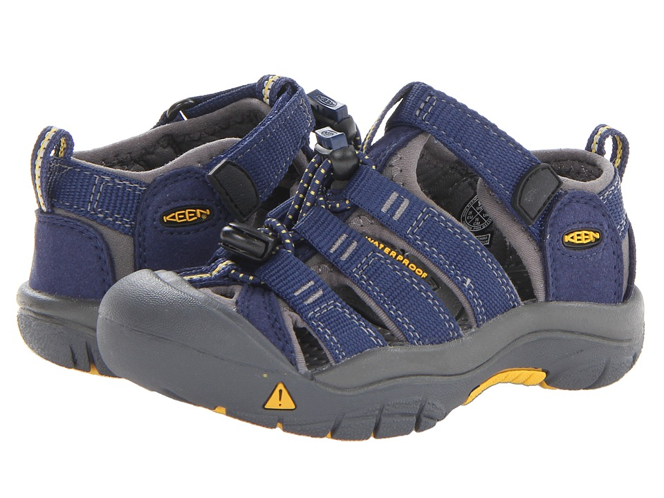 Keen Kids - Newport H2 (Toddler/Little Kid) (Blue Depths/...