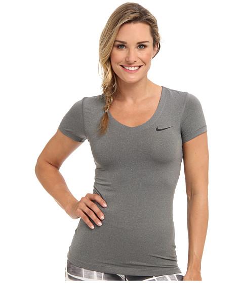 Nike Pro S/S V-Neck Top
