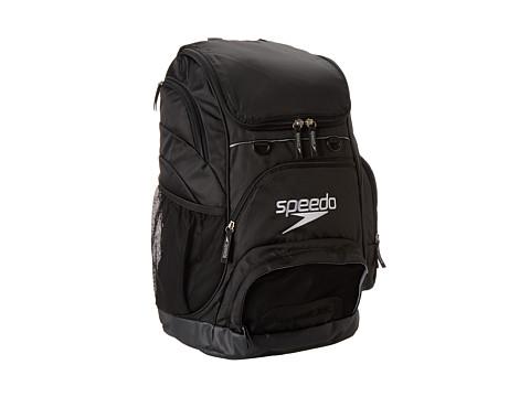 Speedo Teamster Backpack 35L - Black/Black