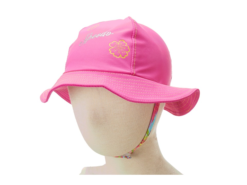 Speedo Kids UV Bucket Hat Pink Bucket Caps