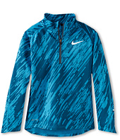 Nike Kids - Element Jacquard 1/2 Zip Long-Sleeve Top (Little Kids/Big Kids)