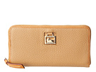 Dooney & Bourke Dillen 2 Large Zip Around