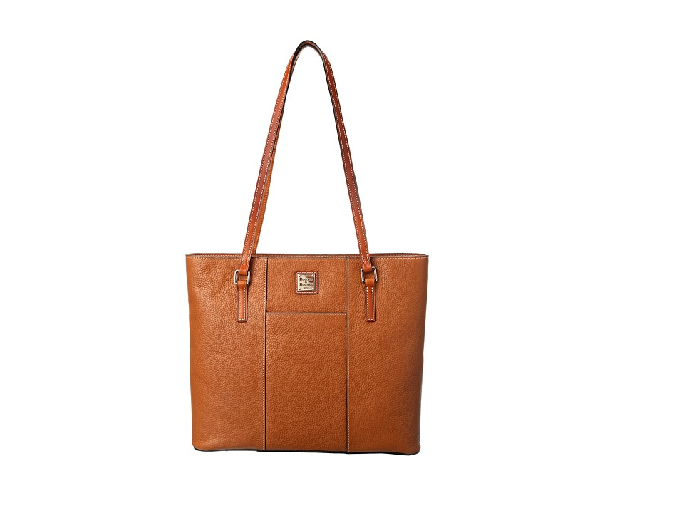 Dooney & Bourke - Lexington Shopper (Caramel) Tote Handbags