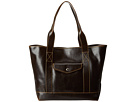 Dooney & Bourke Smooth Leather Large Pocket Shopper