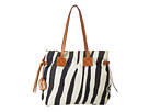 Dooney & Bourke Nylon Print Victoria Bag