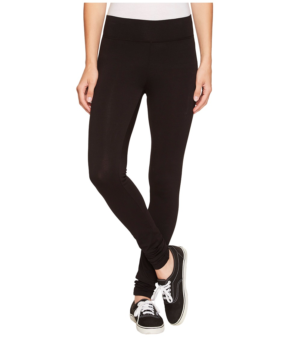 LAmade Basic Long Leggings Black Womens Casual Pants