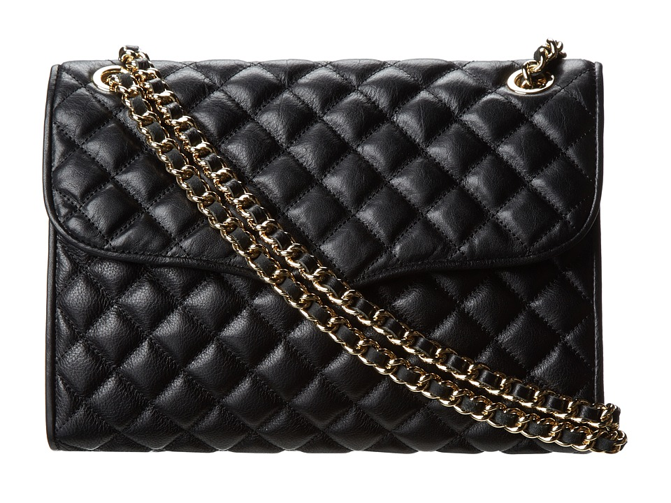 Rebecca Minkoff Quilted Affair (Black 5) Shoulder Handbags