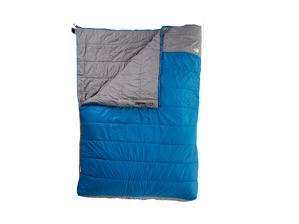 The North Face - Dolomite Double 20/-7 (Regular) (Striker Blue/Zinc Grey) Outdoor Sports Equipment