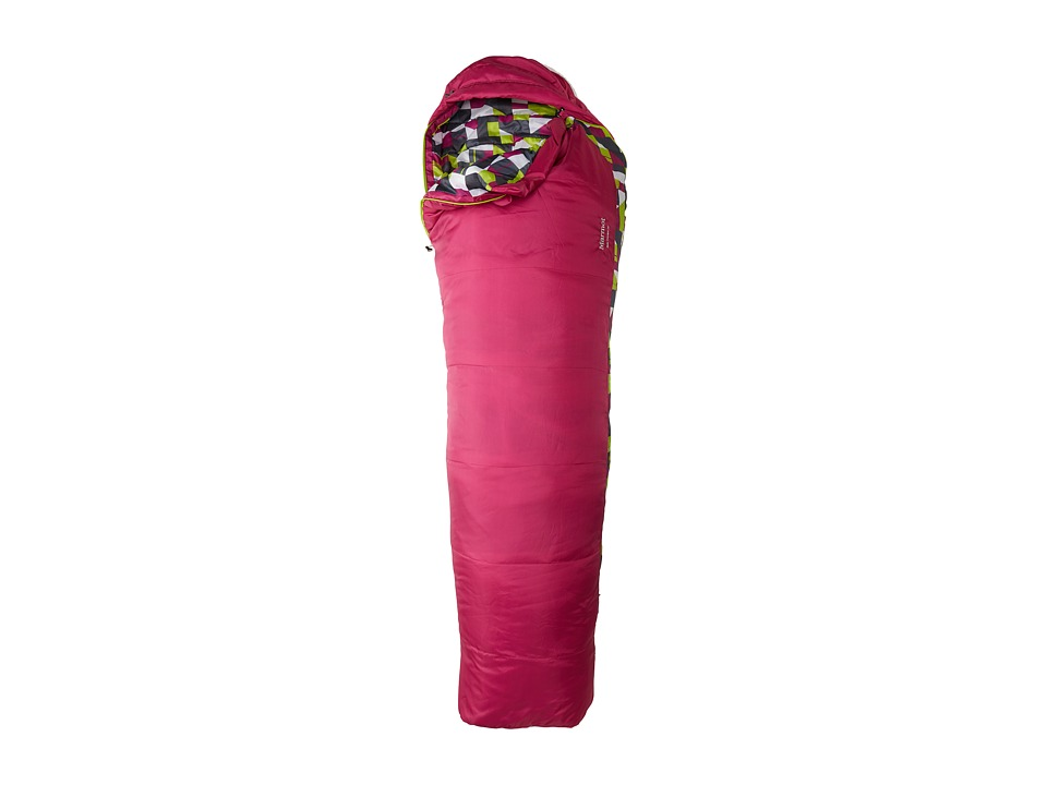 Marmot - Kids Trestles 30 - Regular Sleeping Bag (Lipstick) Outdoor Sports Equipment