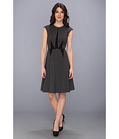 Calvin Klein - Luxe Cap Sleeve A-Line Dress