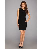 Calvin Klein - Textured Matte Jersey Sheath Dress CD3A3VAT