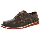 SKECHERS Relaxed Fit-Golson Myles (Dark Brown Leather/Tan Trim)
