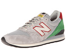 New Balance Classics M996 Grey, Grey, Black Shoes