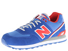New Balance Classics ML574 Stadium Jacket Royal Red Shoes