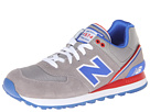 New Balance Classics ML574 Stadium Jacket Grey Shoes