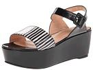 Robert Clergerie - Fraks (#997 Black White Serp) - Footwear